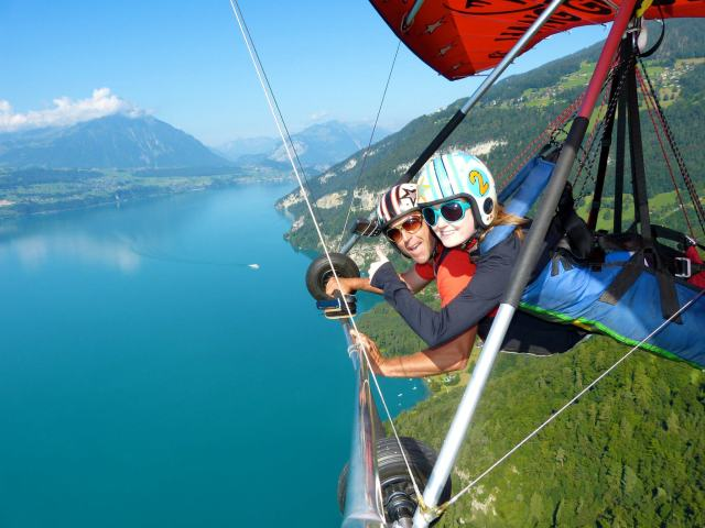 Hang Gliding in Interlaken