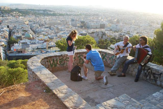 Proposal on Mt. Lycabettus