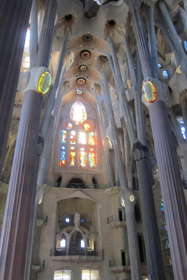 Inside La Segrada Familia