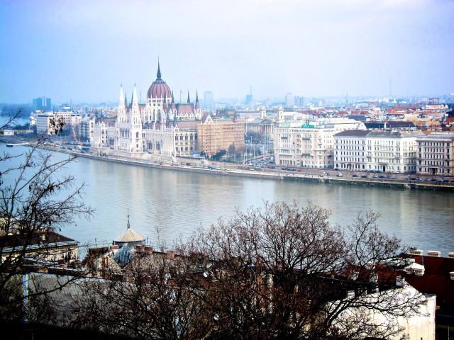 View of Danube river