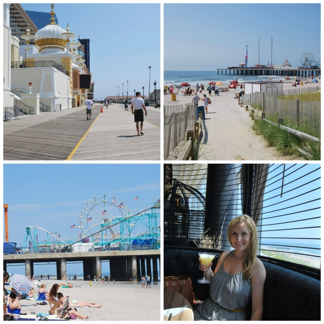 Boardwalk and Jersey Shore