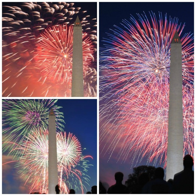 Fireworks on National Mall