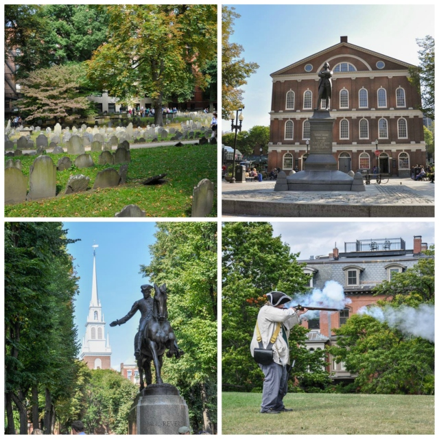 Sites along the Freedom Trail