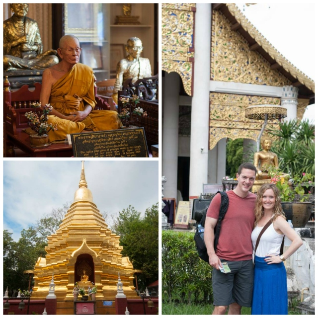 Chiang Mai Monks, Budhists and Temples