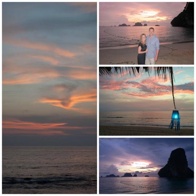Spectacular Thai sunsets in both Ko Lanta and Krabi