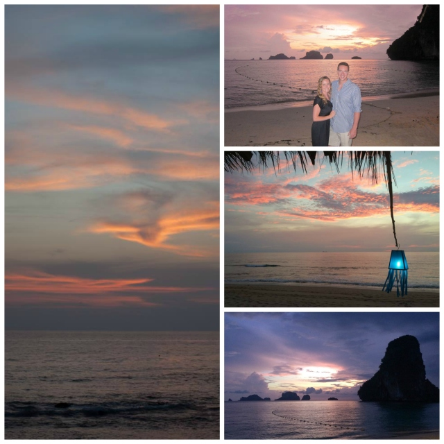 Spectacular Thai sunsets in both Ko Lanta and Krabi
