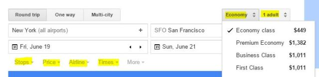 ok, so we won't be flying business to San Fran...