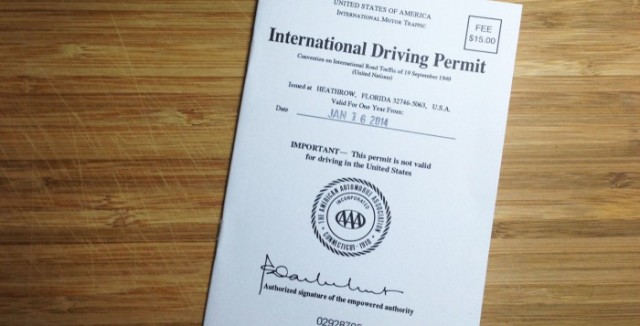 International Driving Permit
