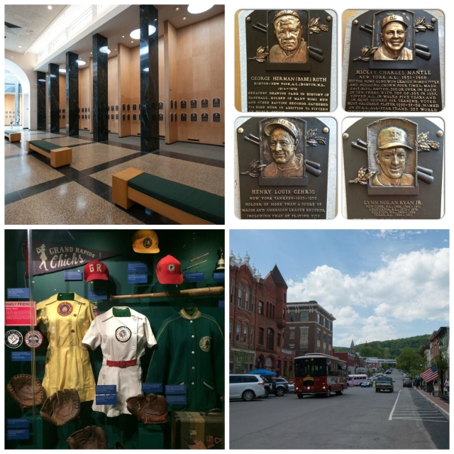 Baseball Hall of Fame in Cooperstown, NY